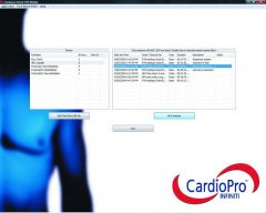 Database Screen - Main Screen