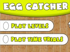 Egg Catcher Game Physiology Suite Add-on - Main Menu