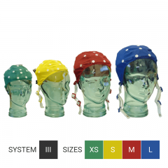 Electro Cap System III for QEEG