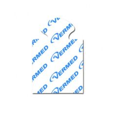 Silver/silver chloride, premium adhesive solid gel tab (non-echo)
