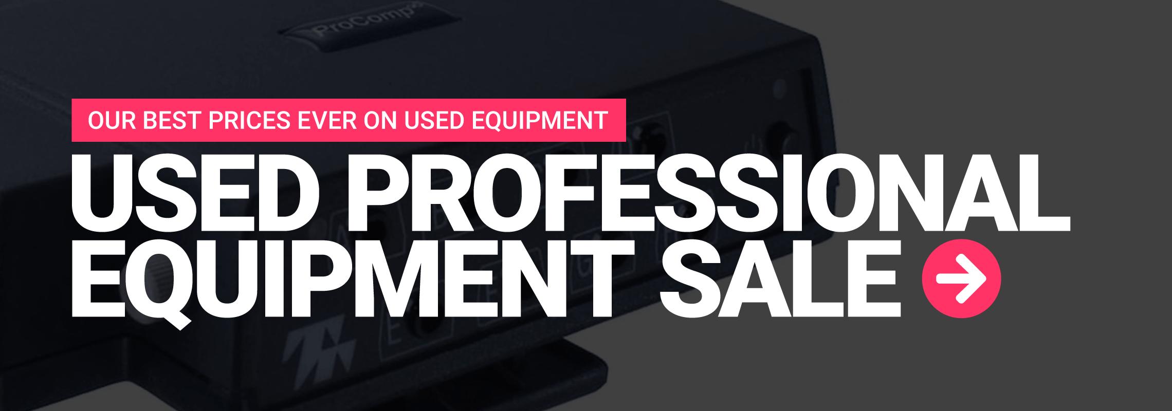 Used Professional Equipment Sale